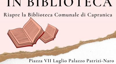 📚 RIAPRE LA BIBLIOTECA !! ✨ VI ASPETTIAMO CON TANTE NOVITA'!!